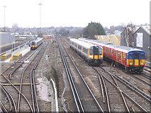 TQ2572 : Wimbledon traincare depot by Stephen Craven