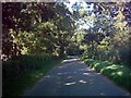 TM3873 : Walpole Road, Bramfield near Ibstock Farm by Adrian Cable