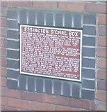 SJ9603 : Essington Signal Box on Bursnips Road by John M