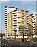 TQ2081 : Westgate flats, Victoria Road, North Acton by David Hawgood