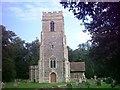 TM3458 : St.Andrews Church, Little Glemham by Adrian Cable