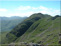 NY2807 : Harrison Stickle from Pavey Ark by Michael Graham