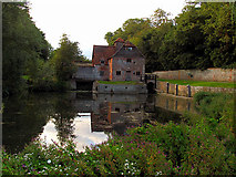 SU6676 : The Mill at Mapledurham House by Pam Brophy