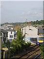 TQ8485 : Leigh on Sea from the railway footbridge by Joan