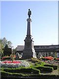 SJ6855 : War Memorial, Queen's Park, Crewe by Graham Shaw