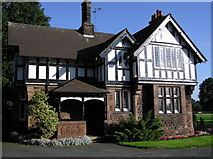 SJ6855 : House at Queen's Park, Crewe by Graham Shaw