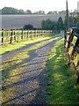 SU7145 : The track to Elmtree Farm by Hugh Chevallier