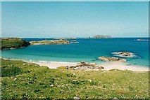 NB1340 : Beach, Great Bernera by Martin Creek