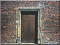 NU1913 : Gate in brick wall, Alnwick Gardens by Martin Creek
