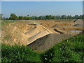 TM4579 : Sand and gravel pits west of Wangford by Mary Walker