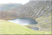 SH5150 : The Upper Lakes of Llynnau Cwm Silyn by Eric Jones