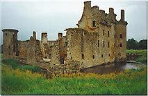 NY0265 : Caerlaverock Castle by Colin Smith