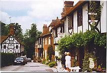 TR0653 : Copper Kettle Tea Room, Chilham by Colin Smith