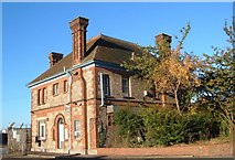SX9291 : Former manager's house, Exeter gas works by Derek Harper