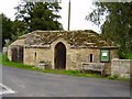 NY9371 : Building in front of churchyard Chollerton by P Glenwright
