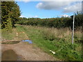 SP1616 : Restricted Byway to Clapton-on-the-Hill by Philip Halling