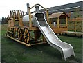 NZ2325 : Playground at Shildon Railway Museum by Stanley Howe