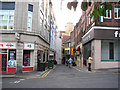 NZ2464 : Pudding Chare, off Bigg Market, newcastle upon Tyne. by Bill Henderson