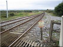 Q9403 : Farranfore: Railway line to Tralee by Nigel Cox