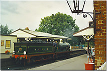 TQ4023 : Steam Engine at Sheffield Park Station by Colin Smith