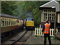 SJ1742 : Diesel weekend on the Llangollen Railway by John Haynes