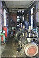 "SK2083 : Mill engine ""Edna"" at Bamford Mill by Chris Allen"