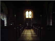 NY2039 : Interior of St Michael's Church, Torpenhow by Alexander P Kapp