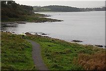 J4782 : North Down Coastal Path near Carnalea by Albert Bridge