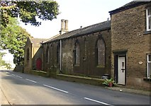 SE1223 : Former National School, Church Lane, Southowram by Humphrey Bolton