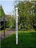 TQ5654 : Village sign - Bitchet Green near Sevenoaks by Jean Barrow