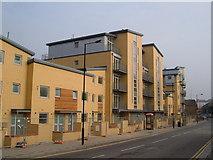 TQ2575 : Apartments on Townmead Road, Fulham by Derek Harper
