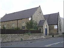 NZ1525 : Evenwood Congregational Church (dated 1906) by Hugh Mortimer
