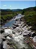 NN8596 : Falls on the River Feshie. by Angus
