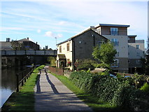 SE1537 : Old and new by the canal by John Illingworth