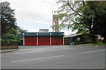 SJ8481 : Wilmslow fire station by Kevin Hale