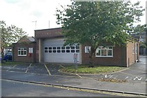 SO8483 : Kinver fire station by Kevin Hale
