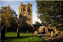 SD9828 : Ruin of church of St Thomas a Becket, Heptonstall by Phil Champion