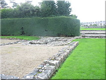 SH4862 : The remains of the baths at Segontium Roman Fort by Eric Jones