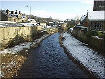 SE0125 : River Calder  at Mytholmroyd by Phil Champion