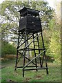 ST9316 : High Seat for Deer Shooting and Watching in Farnham Woods by Toby