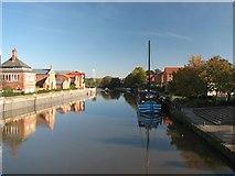 SK7954 : Newark Dyke. by Bob Danylec
