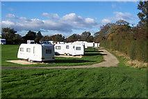 SE3265 : Caravan Site, Milner Hill by Chris Heaton