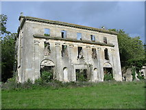 ST5295 : The ruin of Piercefield House Chepstow by Clive Perrin