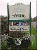 ST8993 : Tetbury Town Sign by Paul Best