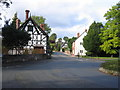 SO8463 : Ombersley Crossroads. by David Stowell