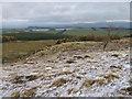 NS7583 : Below Darrach Hill towards Loch Coulter Reservoir by Chris Wimbush