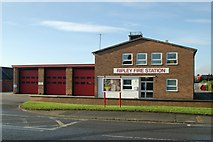 SK3950 : Ripley fire station by Kevin Hale