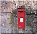NT9349 : Victorian wall postbox by Walter Baxter