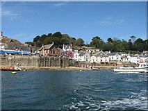 SX1251 : Fowey Town Very Low Tide From Water Taxi by Mel Landells