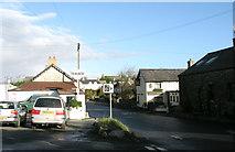 SS9674 : Llysworney village centre by Tony Hodge